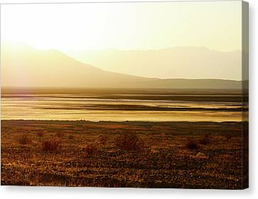 Death Valley - A Natural Geologic Museum Canvas Print by Christine Till