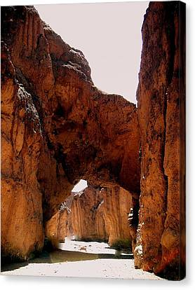 Death Valley Arch Canvas Print by Marty Koch