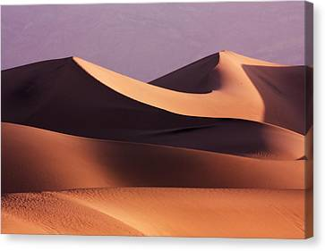 Death Valley Dunes Canvas Print by Matt  Trimble