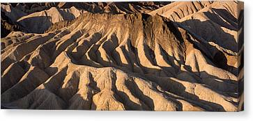 Death Valley Erosion Canvas Print by Steve Gadomski