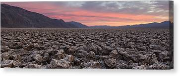 Canvas Print featuring the photograph Death Valley by Patrick Downey