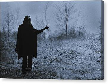 Rural Landscapes Canvas Print - Death Wants To Play by Art of Invi