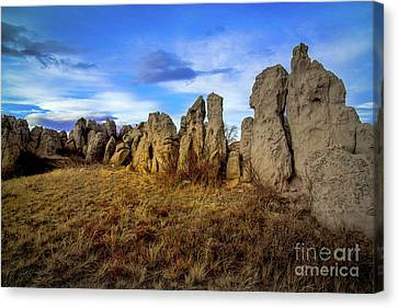 Cost Line Canvas Print - Death Without Company by Jon Burch Photography