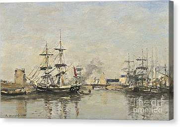 Deauville Le Bassin Canvas Print by MotionAge Designs