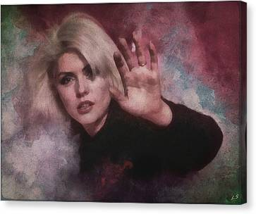 Debbie Harry Canvas Print -  Debbie Harry by Sergey Lukashin