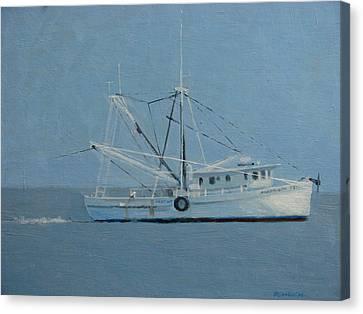 Deborah Ann Trawling Canvas Print by Robert Rohrich