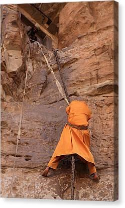 Rock-cut Canvas Print - Debre Damo, Tigray, Ethiopia by Aidan Moran