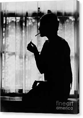 Debutante Canvas Print - Debutante Smoking 1920 by Padre Art
