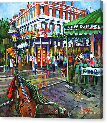 Decatur Street Canvas Print by Dianne Parks