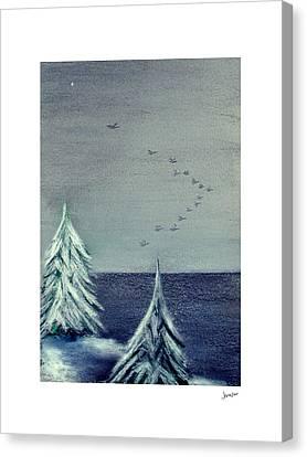 December Dawn Canvas Print by Gary Jameson