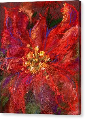 December Flower Canvas Print