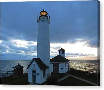 December Light, Tibbetts Point  Canvas Print