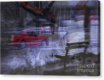 Deceptions Canvas Print by Cathy  Beharriell