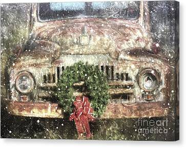 Decked Out For Christmas Canvas Print