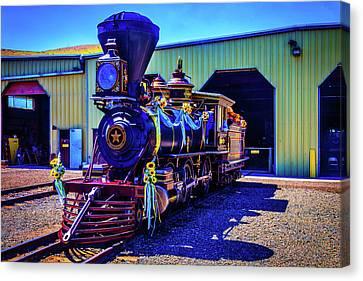 Decorated Glenbrook Locomotive Canvas Print