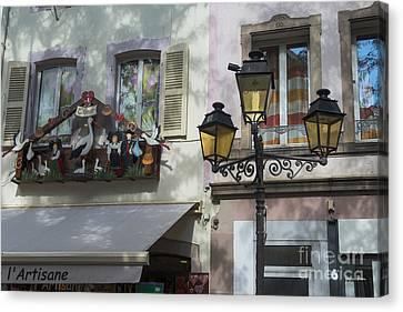 Decoration Of Window In Colmar Canvas Print