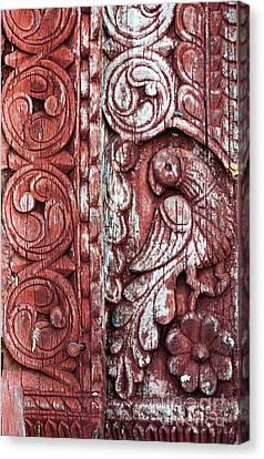 Decorative Door Design Canvas Print by Tim Gainey