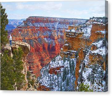 Canvas Print featuring the photograph Deep And Wide by Roberta Byram