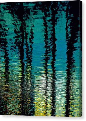 Deep Blue Canvas Print by Gillis Cone