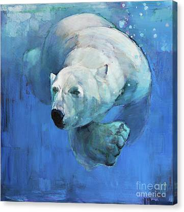 Deep Blue Canvas Print by Mark Adlington