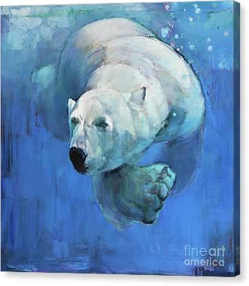 Deep Blue Canvas Print by Mark Adlington