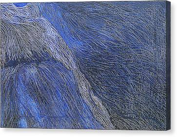 Deep Blue  Canvas Print by Prakash Bal Joshi