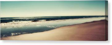 Deep Blue Sea Panoramic Canvas Print