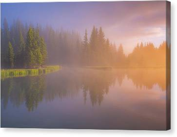 Deep Breath Canvas Print by Darren White