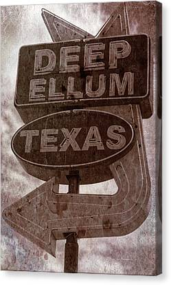 Deep Ellum Texas Canvas Print by Jonathan Davison