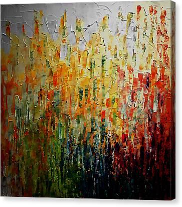 Deep Garden Canvas Print