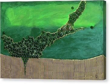 Deep Impact Canvas Print by Donna Blackhall