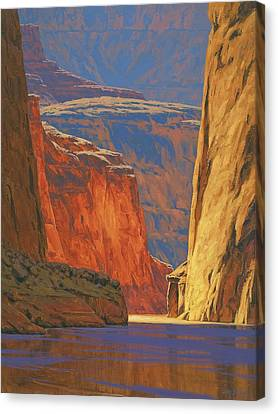 Usa Canvas Print - Deep In The Canyon by Cody DeLong