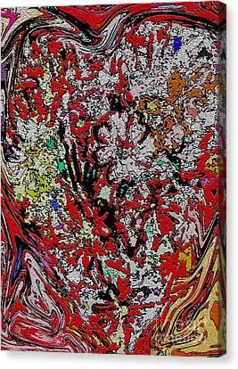 Arcylic Canvas Print - Deep Love by Mindy Newman
