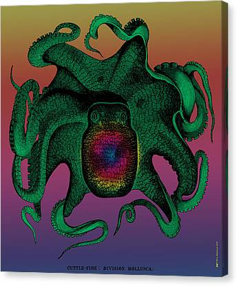 Deep Monster Number Two Canvas Print by Eric Edelman