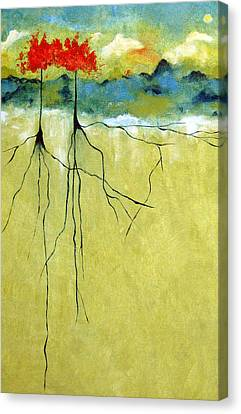 Deep Roots Canvas Print by Ruth Palmer
