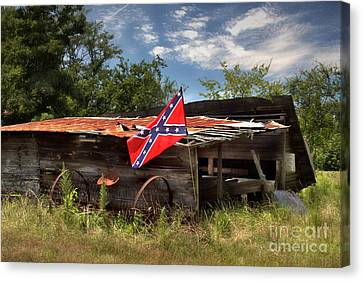 Deep South Farm Canvas Print by Benanne Stiens