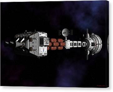 Deep Space Canvas Print by David Robinson