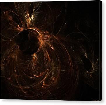 Deep Space Canvas Print - Deep Space  II by Shan Peck