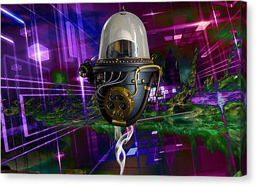 Outer Space Canvas Print - Deep Space by Marvin Blaine