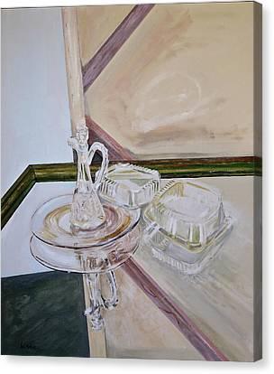 Deep Surface Canvas Print by Bonnie See