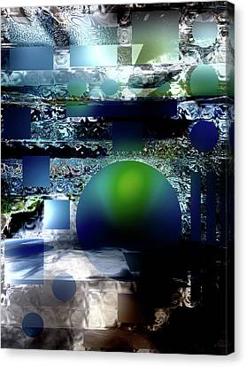 Deep Within The Dream Canvas Print by Another Dimension Art