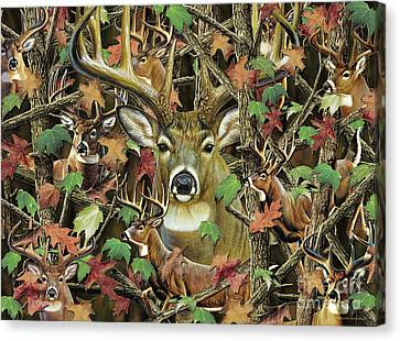 Canvas Print - Deer Camo by JQ Licensing  Cynthie Fisher