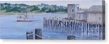 Deer Island  Original...sold Canvas Print