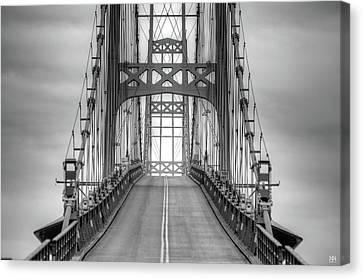 Deer Isle Sedgwick Bridge Canvas Print