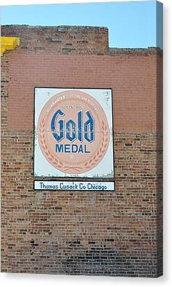 Deer Lodge Montana - Gold Medal Canvas Print