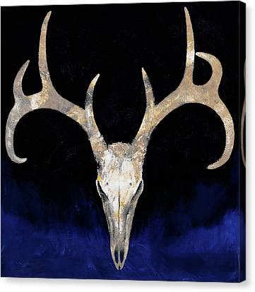 Deer Skull Canvas Print by Michael Creese