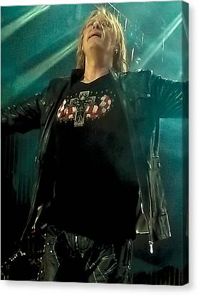 Def Lappard's Joe Elliott Canvas Print
