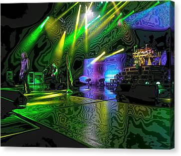 Def Leppard At Saratoga Springs 3 Canvas Print