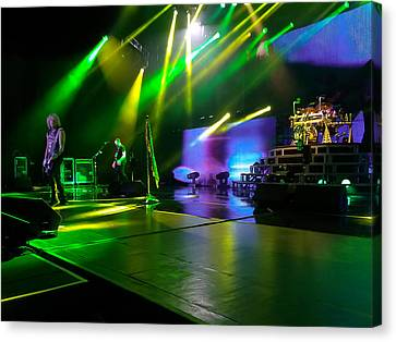 Def Leppard At Saratoga Springs Canvas Print by David Patterson