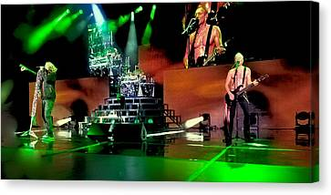 Def Leppard On Stage Canvas Print